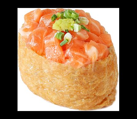 생연어유부초밥