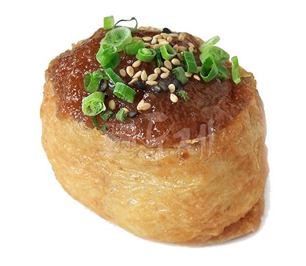 간장새우 유부초밥