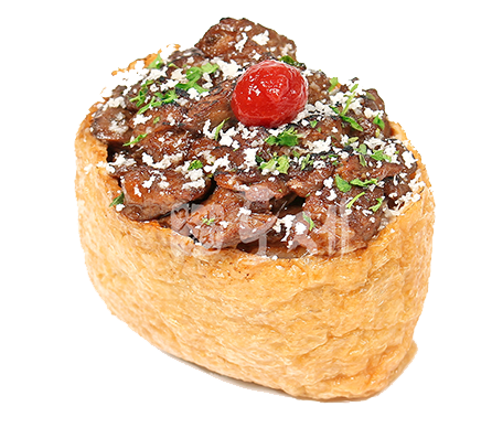 스노우스테이크유부초밥