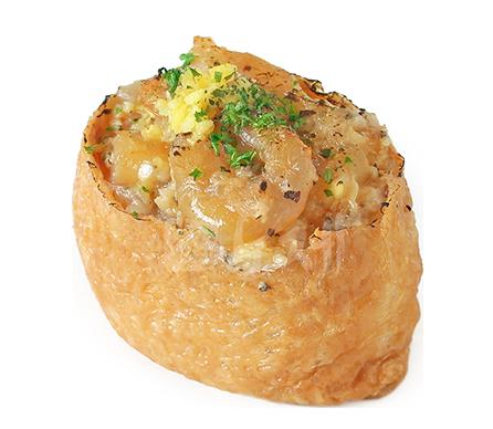 갈릭새우 유부초밥