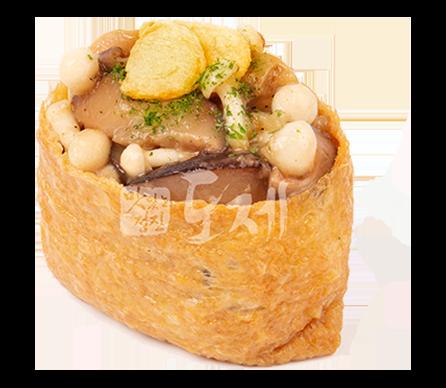갈릭머쉬룸 유부초밥