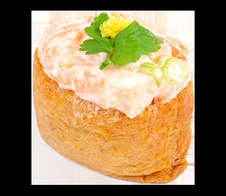 상큼한연어 유부초밥