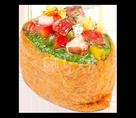 새콤한문어 유부초밥