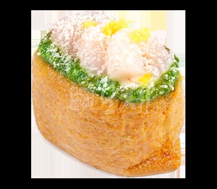 싱긋한새우 유부초밥