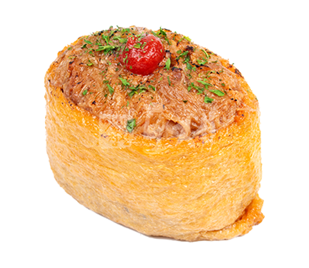 돼지바베큐 유부초밥