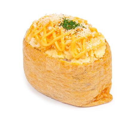 콰트로치즈에그 유부초밥