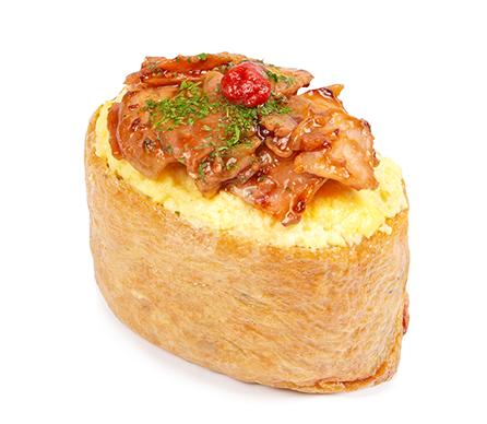 베이컨에그 유부초밥