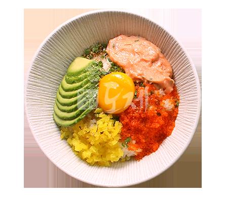 명란아보카도덮밥